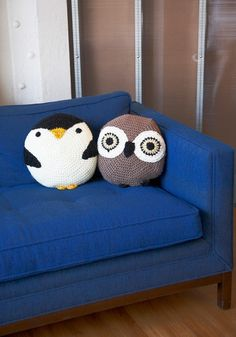 What every home should have - really, really ridiculously cute pillows.