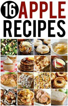 16 Incredible Apple Recipes to make this Fall | Creme de la Crumb
