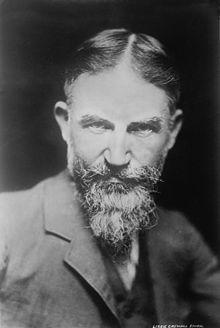George Bernard Shaw - Around 1900  Irish play  One of the play he wrote was    MY FAIR LADY  actually Pygmillian