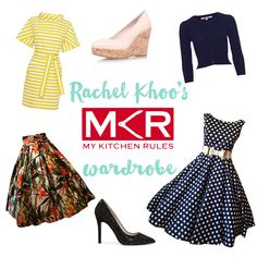 Inside my Zumbo's wardrobe (episodes - Rachel Khoo Rachel Khoo, My Kitchen Rules, French Dressing, Church Fashion, Estilo Retro, Australian Fashion, Fasion, Beautiful Outfits, Work Wear