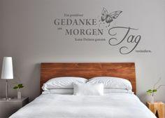 """Wandgestaltung """"Ein positiver Gedanke am Morgen..."""""""