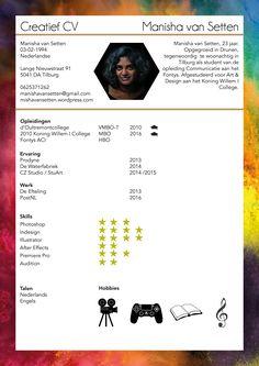 Creatief CV - Manisha van Setten