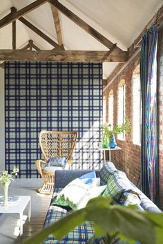 Designers Guild, Fabric Online, News Design, Fabric Design, Home Appliances, Upholstery Fabrics, Curtains, Bed, Rooms
