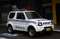 New South Wales Police, Suzuki Jimmy 4x4 SWB Hardtop multipurpose use. ★。☆。JpM ENTERTAINMENT ☆。★。