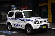 New South Wales Police, Suzuki Jimmy 4x4 SWB Hardtop multipurpose use. ★。☆。JpM ENTERTAINMENT ☆。★。