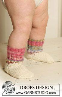"""DROPS sokker i """"Fabel"""". ~ DROPS Design"""