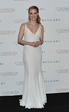 Jessica Chastian channelled the late Elizabeth Taylor dressing ideas at the Cannes Film Festival Tuesday by beautifying herself with the legendary actress's Bulgari jewels. For more news check out here.