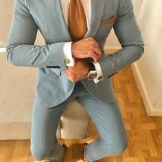 Suit up for men Casual Wedding Suit, Summer Wedding Suits, Mens Casual Suits, Summer Suits, Mens Fashion Suits, Mens Suits, Men's Fashion, Wedding Attire, Wedding Outfits