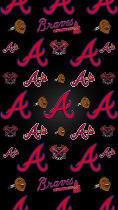 Baseball Memes, Braves Baseball, Baseball Players, Brave Wallpaper, Neon Wallpaper, Atlanta Braves Logo, Baseball Wallpaper, Sports Wallpapers, New England Patriots