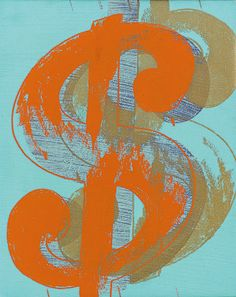 "Andy Warhol ""Dollar Sign"" - Contemporary Curated #Sothebys #art"