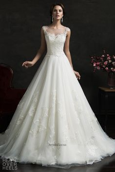 Amelia Sposa 2015 Wedding Dress Style: Luiza | Heart Over Heels #bridal #designer
