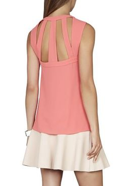 Laurenne Sleeveless Cutout Top