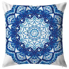 Cojín Mandala Bw by Tres Mares. Mandalas. Cojines. Azul. Encuentra dónde comprar este diseño y Producto en Colombia. Decohunter