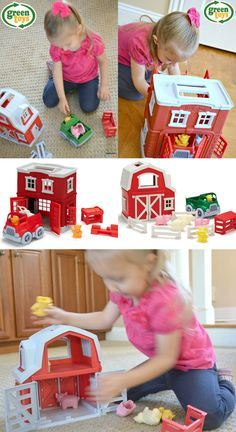 playsets from Green Toys are so great for open-ended play Popular Kids Toys, Best Kids Toys, Learning Apps, Early Learning, Toddler Toys, Baby Toys, Best Christmas Toys, Book Reviews For Kids, Green Toys