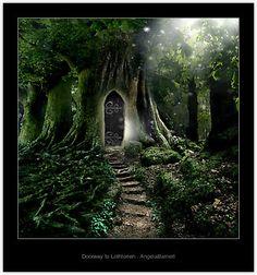 Doorway to Lothlorien