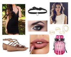 """Siren"" by emtasticc on Polyvore featuring Valentino, DANNIJO, Victoria's Secret and MANGO"