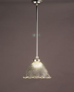 Caple Prismatic Clear Glass Bathroom Ceiling Light