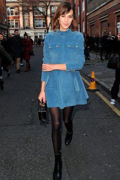 Alexa Chung Photos - Alexa Chung at London Fashion Week - Zimbio Alexa Chung Style, London Fashion Weeks, Tokyo Fashion, Cannes Film Festival, Casual Fall Outfits, Cute Outfits, Alex Chung, London Stil, Looks Style