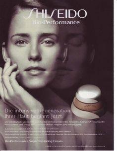Shiseido German advertisement