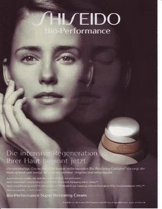 Shiseido German advertisement