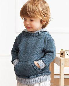 Hooded Pullover | Knitting Fever Yarns & Euro Yarns