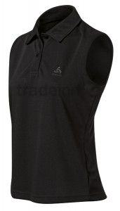 Odlo Polo Shirt Ss Mura Black Woman $46.4