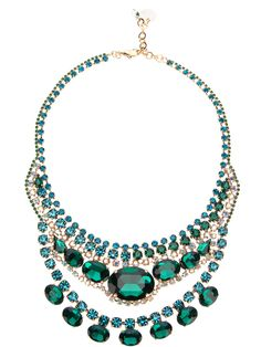 Marina Fossati Layered Jewel Necklace - Russo Capri - Farfetch.com