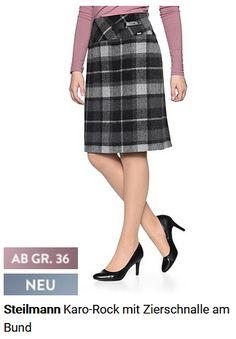 Damen Karo-Rock Dresses For Work, Fashion, Eagle, Dress Work, Moda, Fashion Styles, Fashion Illustrations
