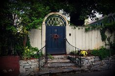 Garden Gate on Benefit Street in Providence, RI