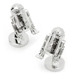 Star Wars R2D2 Palladium Cufflinks