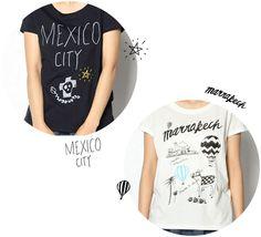 都市をテーマにしたTシャツの図案を担当しました。 ciaopanic各店舗とオンラインストアで販売中。 ワンポイント刺繍入り。 http://takahiroko.net/portfolio/2014/05/tshirts-illust.html