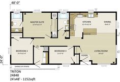 small house plans 24 x 36. 24 x 48 homes floor plans  Google Search X 36 Floor Plans nominal size 52 actual 0