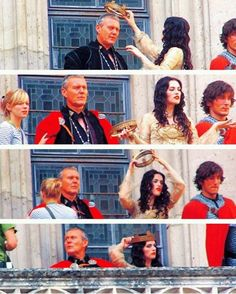 """Morgana: """"Why don't I just take it?""""  Uther: """"Can she do that?""""  And that is how this show could have finished four seasons early."""