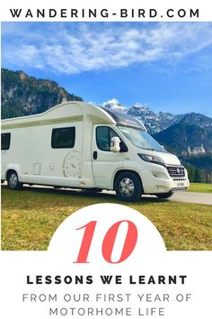 Thinking of trying RV life? Wondering if RV living is for you? We lived in a motorhome for 12 months- here are our 10 essential tips to survive living in a campervan. Road Trip On A Budget, Road Trip Packing, Road Trip Europe, Road Trip Essentials, Road Trip Hacks, Road Trips, Rv Travel, Europe Travel Tips, Budget Travel