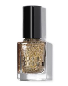 THE GIRL WITH THE MOST INTERESTING NAILS - Bobbi Brown limited-edition glitter nail polish.