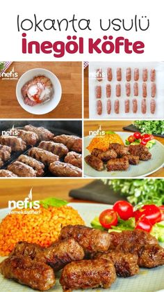 Dondurucuda İnegöl Köfte (Lokanta Usulü) – Nefis Yemek Tarifleri – Kolay yemekler – The Most Practical and Easy Recipes Meat Recipes, Seafood Recipes, Pasta Recipes, Dinner Recipes, Chicken Recipes, Family Meals, Kids Meals, Dinner For Two