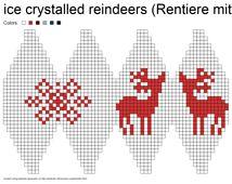 Ravelry: Julekuler - ice crystalled reindeers (Rentiere mit Eisstern) pattern by Jasmin Malekpour-Augustin