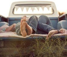 Love his pickup truck
