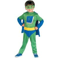 Super Why Costume and Logo | Homemade and Iron | Baby Blog Addict: Parenting Tips, Humor and News — Baby Blog Addict: Prenatal, Nutrition, and Family Health Blog