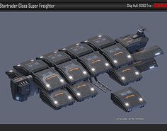 model Scifi Super Freighter Startrader Source by Our Reader Score[Total: 0 Average: Related photos:Spaceship Interior HD 3 Spaceship Art, Spaceship Design, Sci Fi Spaceships, Starship Concept, Space Engineers, Sci Fi News, Space Battles, Sci Fi Ships, Concept Ships