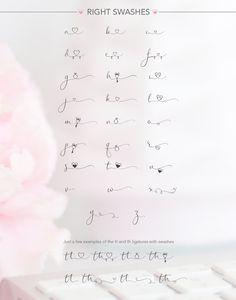 Wedding font - iHeartit by Joanne Marie on Kinderinitialen Tattoos, Dainty Tattoos, Mini Tattoos, Love Tattoos, Small Tattoos, Tattoos For Women, Tatoos, Kids Initial Tattoos, Hand Lettering Fonts