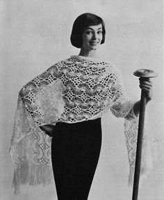 Vintage Hairpin Lace Crochet Pattern