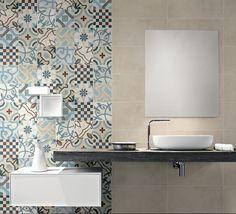 Mosaico hidraúlico, serie Cementine 20 de  Fioranese • Ceramiche Fioranese porcelain stoneware tiles and ceramics for outdoor/indoor.