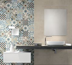 Mosaico hidraúlico, serie Cementine 20 de  Fioranese • Ceramiche Fioranese porcelain stoneware tiles and ceramics for outdoor/indoor.