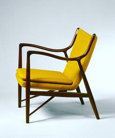 20cmodern: U201cThe 45 Chair In Brazilian Rosewood, Designed By Finn Juhl From  1945