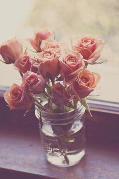 Fresh cut roses