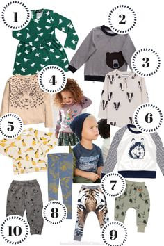 Kindermode Herbst 2016 - Trend Tiermotive - Shopping Tipps - Idee - Outfit - Style
