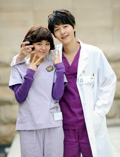 Ahn Kyung Woo and Kim Young Mi