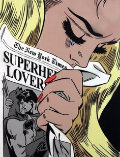 Crying Girl (New York Times) by Rich Simmons at Soho Contemporary Art - Printed Editions - Ref 38792 Superman, Batman, Pastel Punk, Crying Girl, New York, Modern Love, Vintage Comics, Vintage Cartoon, Comics Girls