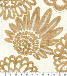 Genevieve Gorder Upholstery Fabric 54''-Resin Glow Flower Pops